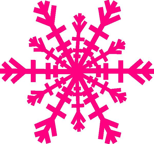 600x563 Snowflake Clip Art
