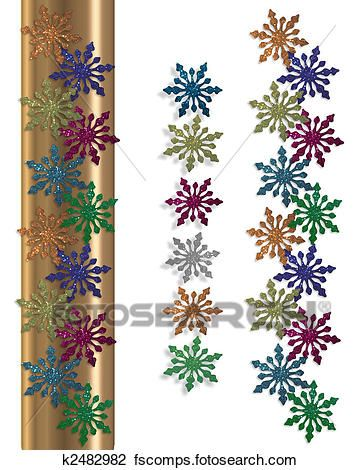 360x470 winter border clip art Archives