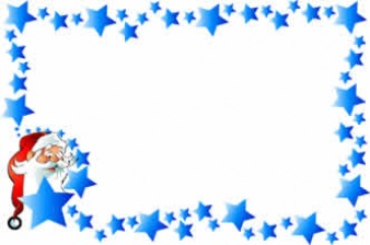 338x224 Christmas Star Snowflake Border Free Vector In