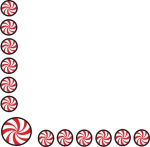 300x294 Free Peppermint Clipart Image