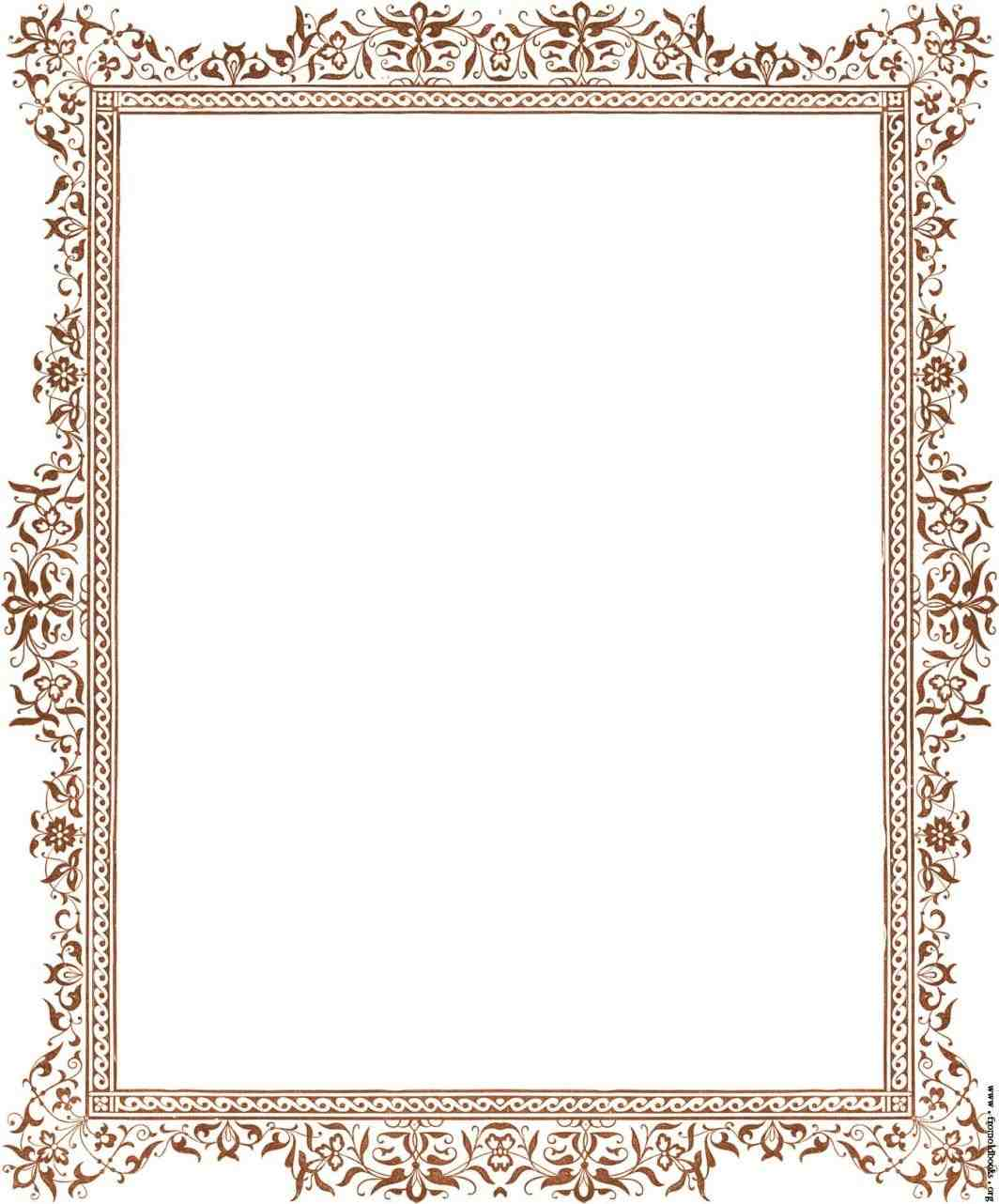 1064x1282 Blue Christmas Borders For Microsoft Word cheminee.website