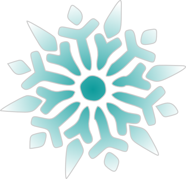 600x578 Snowflake Ice Blue Png, Svg Clip Art For Web