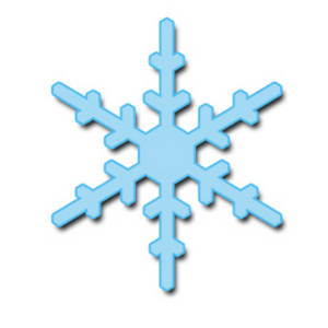 300x300 Snowflake clip art 2
