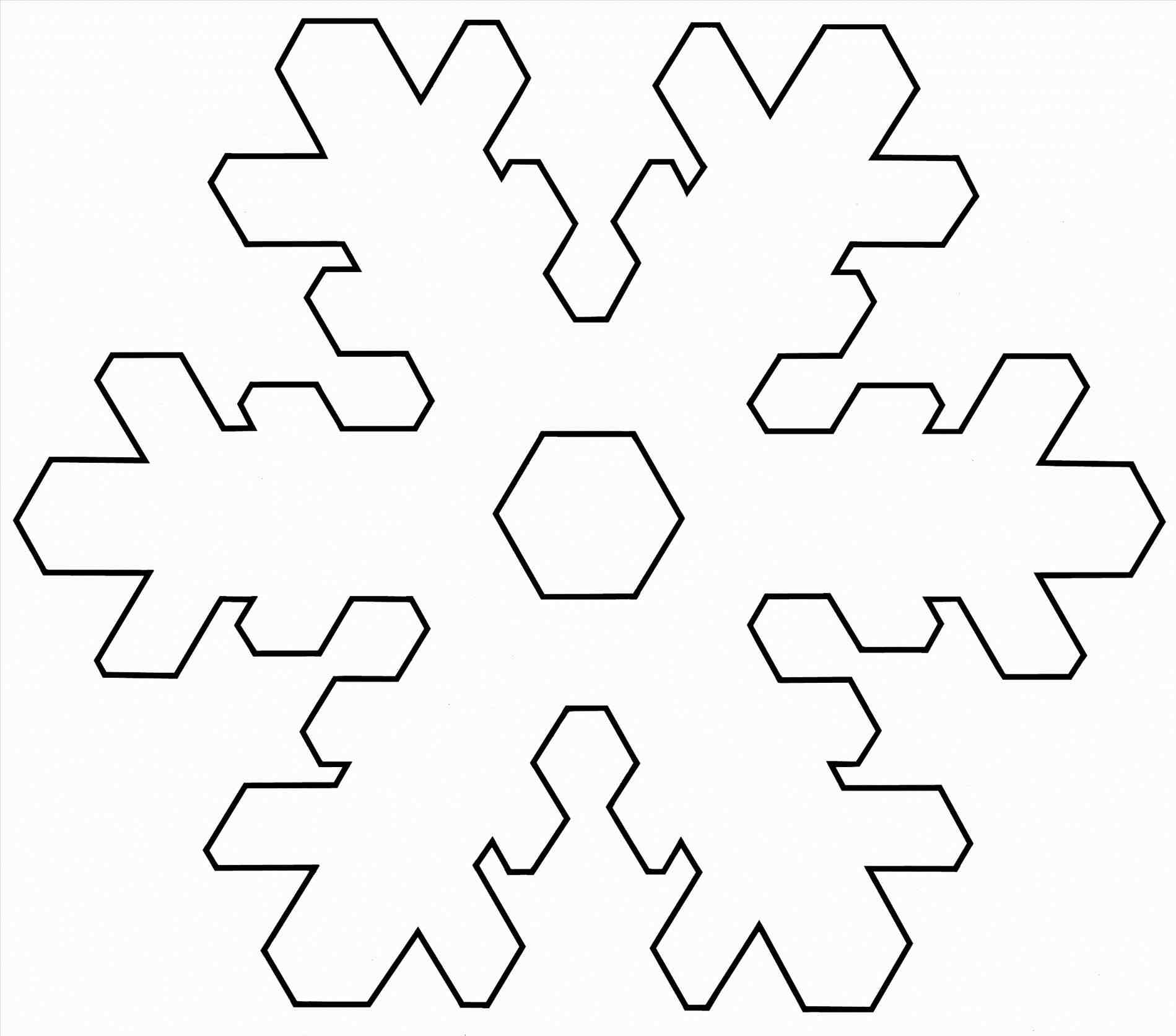 Snowflake outline. Clipart free download best