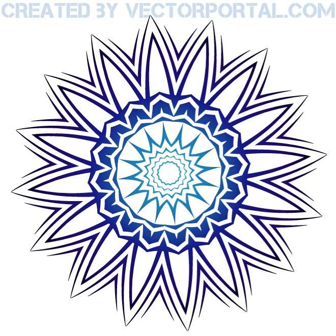 660x660 Flower Sticker Clip Art Free Vector 123Freevectors