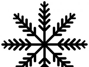 310x233 Snowflake Crystal Clip Art Free Vector Free Vectors Ui Download