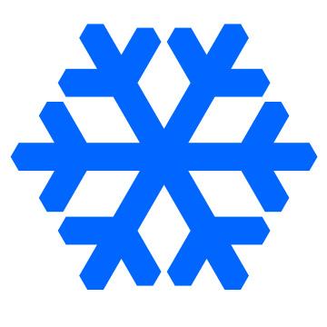360x360 Snowflake Clip Art Clipart Clipart