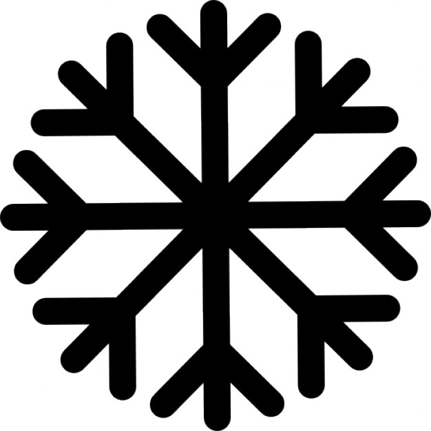 626x626 Snowflake lined Icons Free Download