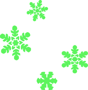 294x300 Red And Green Snowflake Clipart (34+)