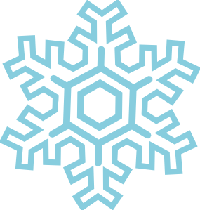 285x299 Snowflake Clipart Black And White Clipart Panda