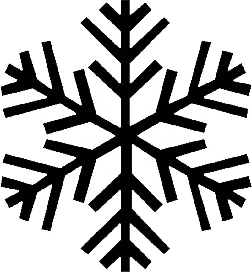 802x867 Snowflake Transparent Background