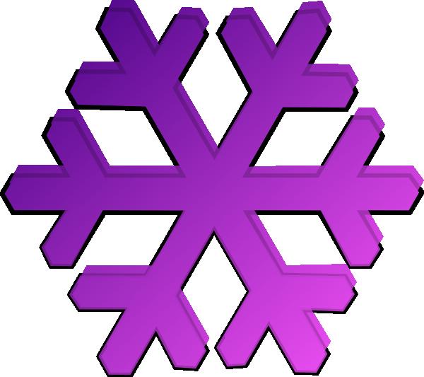 600x533 Purple Snowflake Clip Art