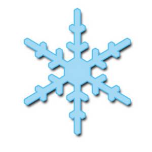 300x300 Snowflake Clipart 3