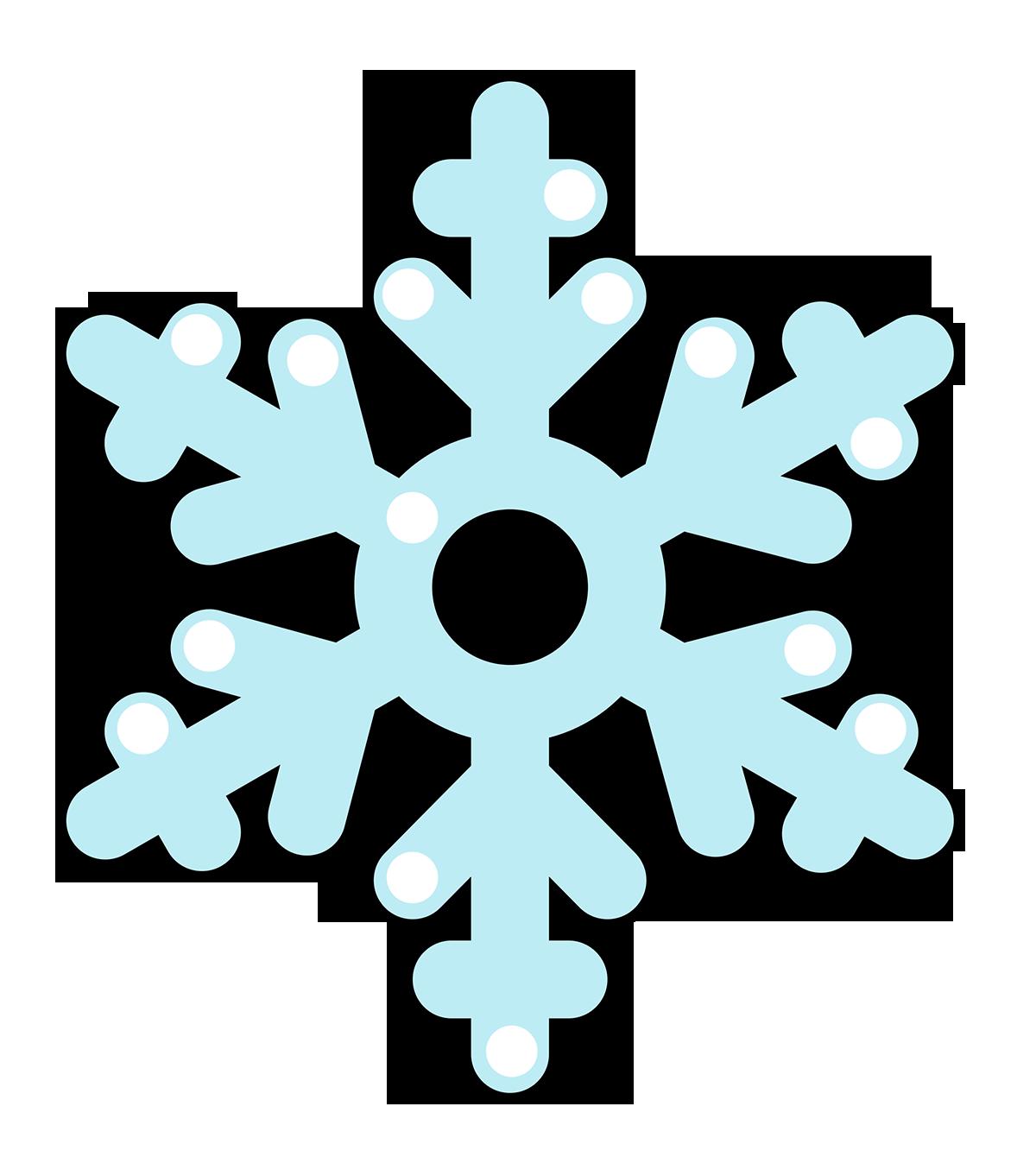 1200x1362 Clip Art Snow Flake