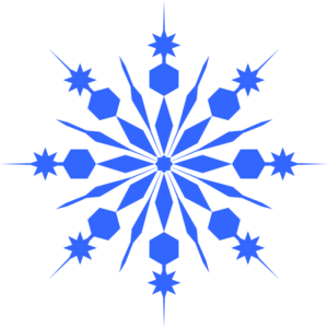 300x300 Snowflake Clipart Clear Background