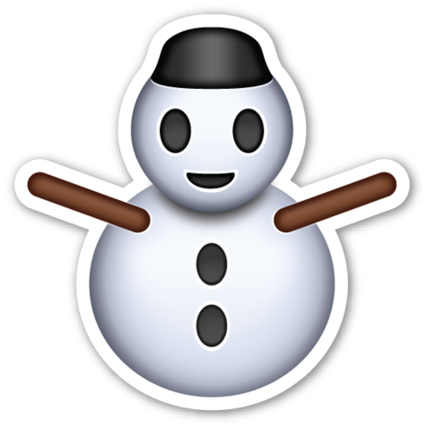 480x480 Snowman Without Snow Snowman, Emoji And Snow