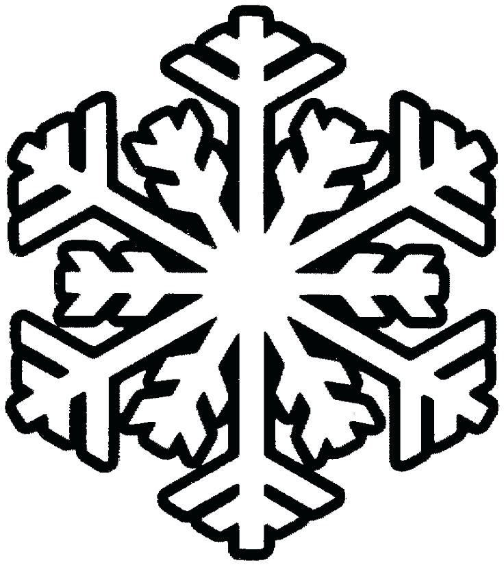 736x825 Frozen Snowflake Colouring Pages Free Printable Coloring