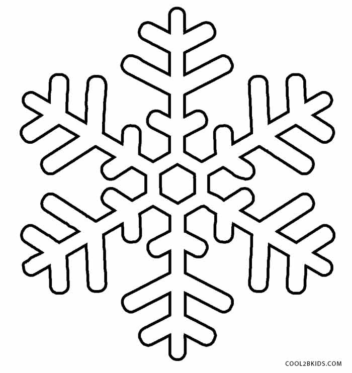 700x742 Printable Snowflake Coloring Pages For Kids Cool2bkids
