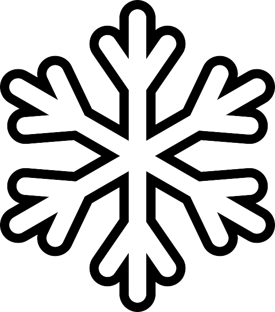 564x640 Snowflake Colouring Pages Outlines, Snow Flakes And Template