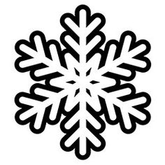 236x236 Snowflake Coloring Page Fallwinter Activities For Kids