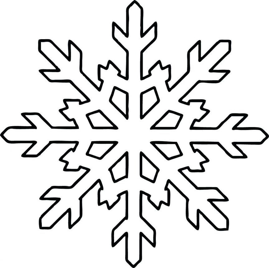 863x862 Snowflakes Mandala Coloring Page Free Printable Pages Click The