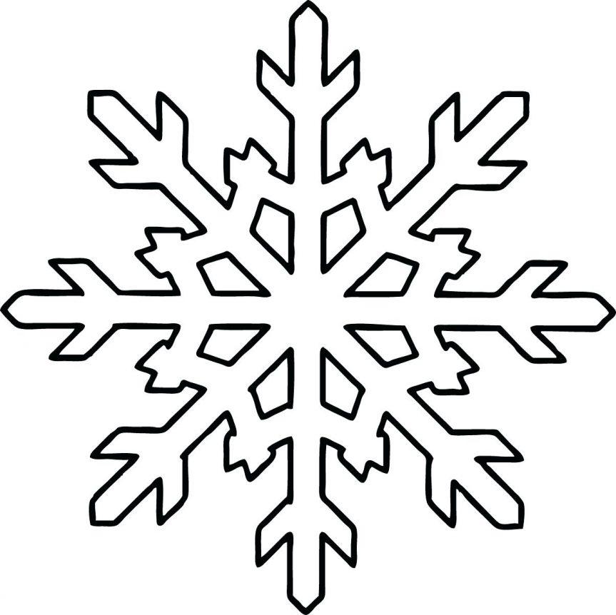 863x862 Snowflakes Mandala Coloring Page Free Printable Pages Click