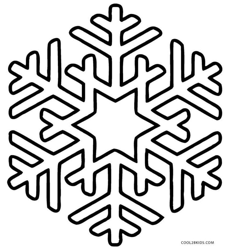 735x808 The Best Snowflake Coloring Pages Ideas