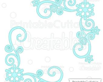 340x270 Snowflake Swirl Etsy