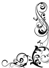209x290 Swirly Snowflake Clipart