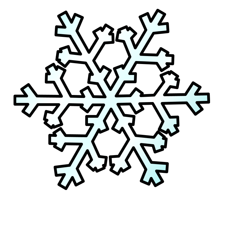 800x800 Animated Snowflake Clipart