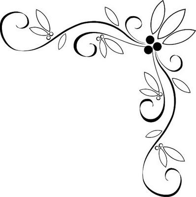 398x400 Best Corner Border Ideas Cute Borders, Corner