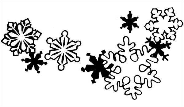 600x350 12+ Snowflake Cliparts