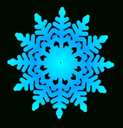 473x489 Top 10 Free Clipart Snowflakes