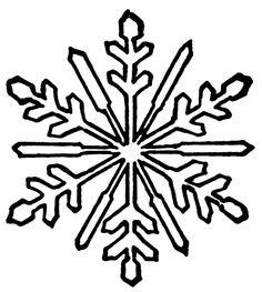 236x263 White Snowflake Clipart