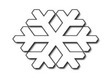 353x265 White snowflake clipart, explore pictures