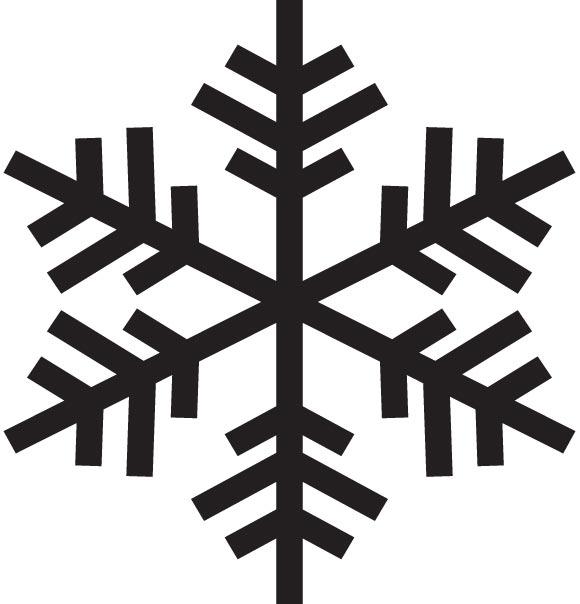 580x604 Free Vector Snowflake
