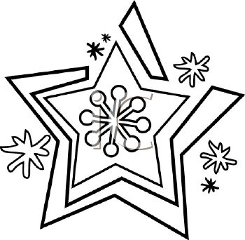 Snowflake Images Black And White