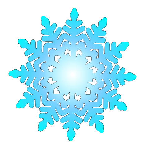 473x489 Light Blue Clipart Snowflake