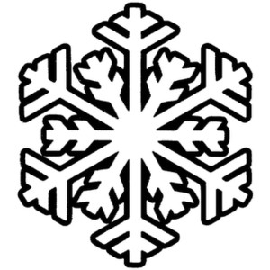 300x300 Picture Of Snowflakes Clipart