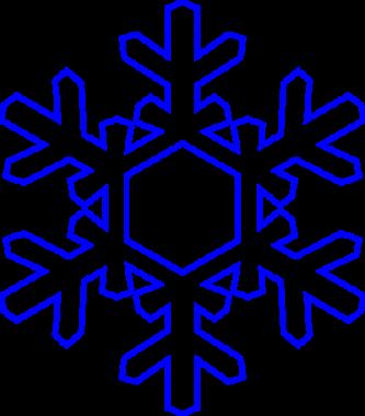 333x380 Snowflake Clipart Clipartpen