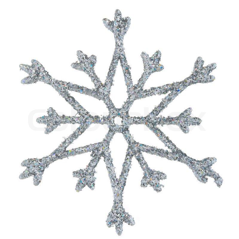 800x800 Snowflake Photo On A White Background Stock Photo Colourbox