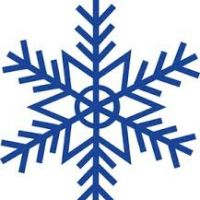 200x200 Snowflakes Clipart