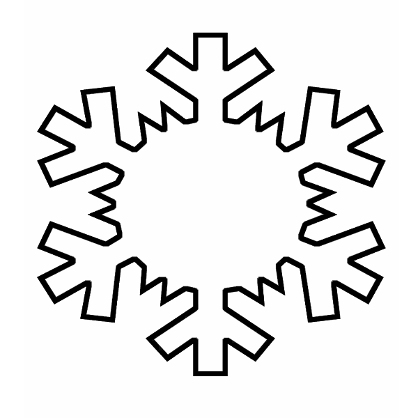It's just a picture of Adaptable Snowflakes Print Out