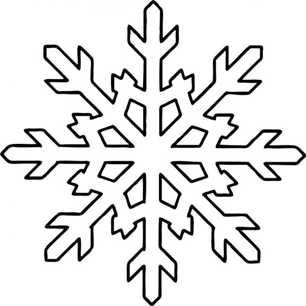 snowflake method template - snowflake outline free download best snowflake outline