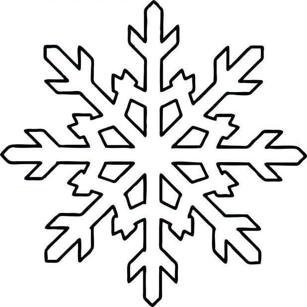 snowflake method template - snowflake outline free download best snowflake outline