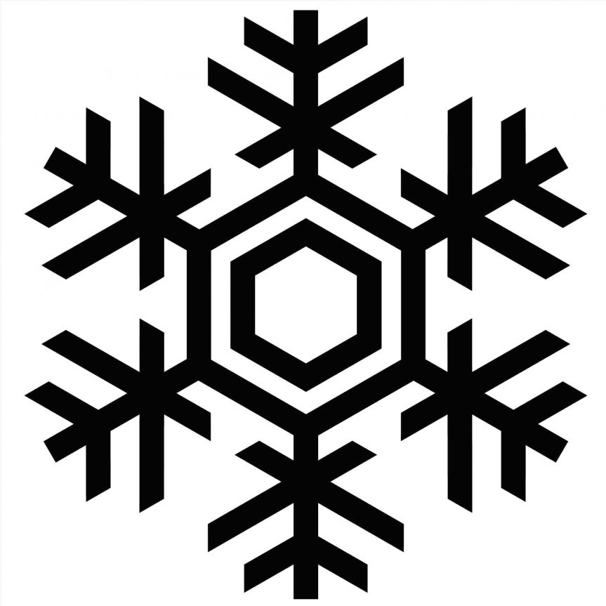 snowflake outline free download best snowflake outline on