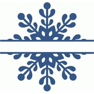 Snowflake Outline Clipart