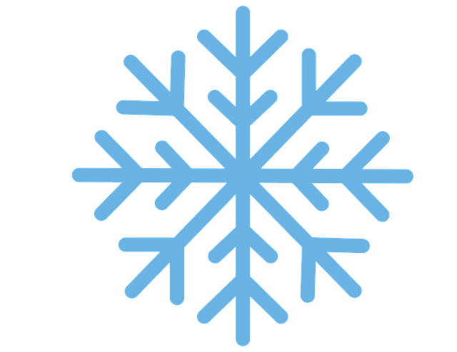 640x494 Free photo Snow Snowflake Blue Christmas Winter Flake Cold
