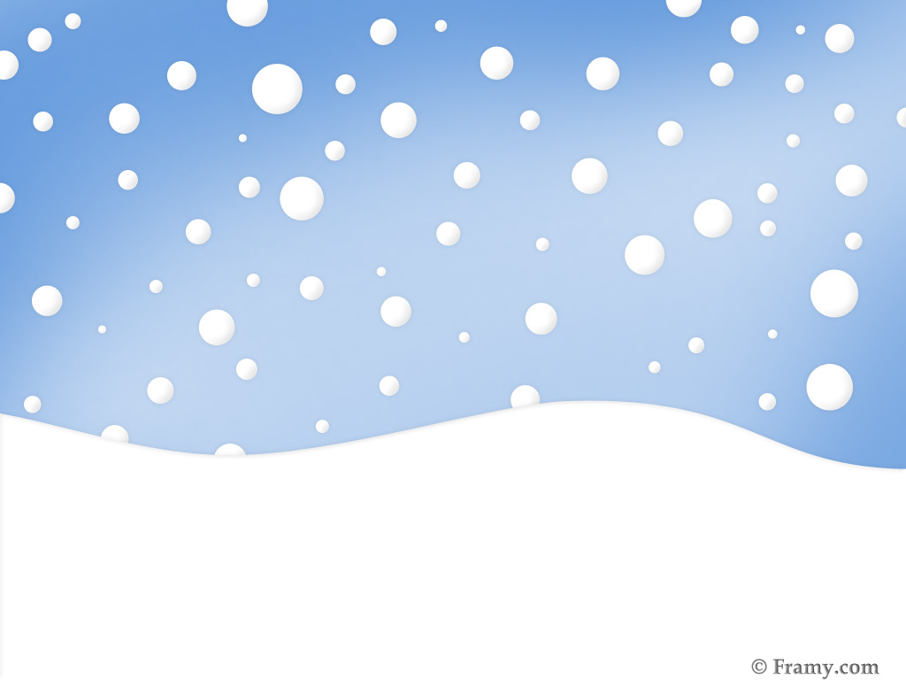 1024x768 Snow Clipart Free