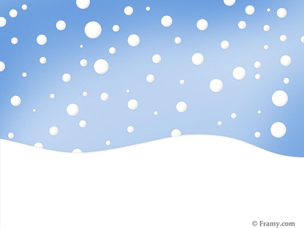 1024x768 Snow Clipart Free